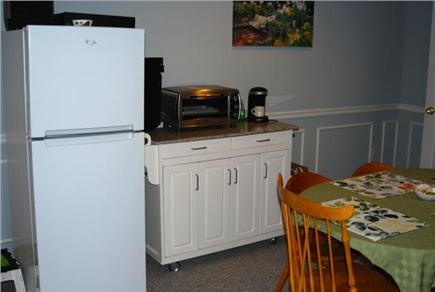 Falmouth Cape Cod vacation rental - Kitchenette and dining area in basement apartment