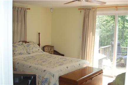 Falmouth Cape Cod vacation rental - Wonderful MB, AC, ceiling fan, master bath and slider to lg deck