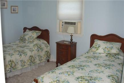 Falmouth Cape Cod vacation rental - Good sized second bedroom w/twin beds & air conditioner
