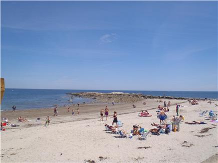 Marshfield, Brant Rock MA vacation rental - Brant Rock beach looking southeast towards Green Harbor.