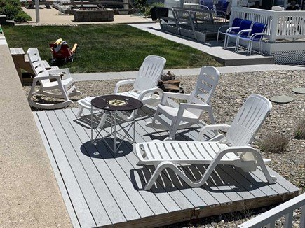 Marshfield, Brant Rock MA vacation rental - Great deck for relaxing!