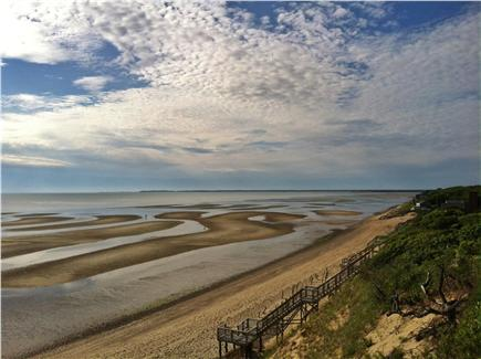 North Eastham Cape Cod vacation rental - Low tide