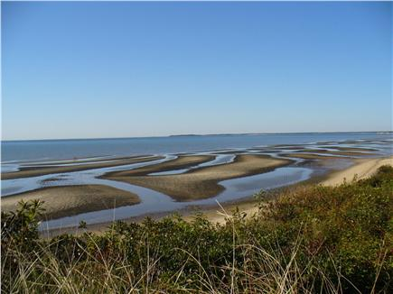 North Eastham Cape Cod vacation rental - View of flats at low tide