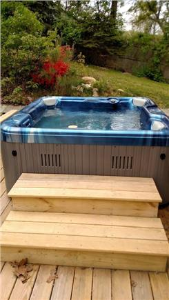 Brewster Cape Cod vacation rental - Hot tub!