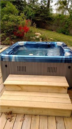 Brewster Cape Cod vacation rental - Hot tub!