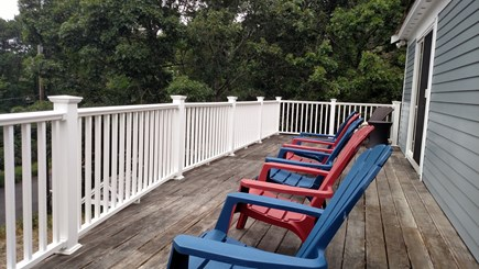 Brewster Cape Cod vacation rental - Enjoy the deck