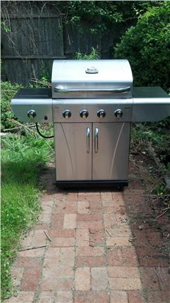 East Falmouth Cape Cod vacation rental - Gas grill w/ propane tank ('13)