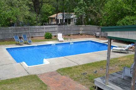 East Falmouth Cape Cod vacation rental - Backyard Oasis