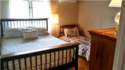 East Falmouth Cape Cod vacation rental - Bedroom #3 - Queen & Twin w/ AC