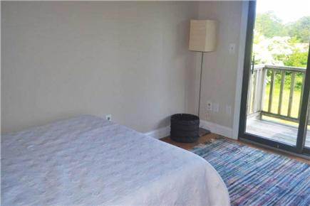 East Falmouth Cape Cod vacation rental - Bedroom #4 - Full w/ slider to small balcony overlooking pool
