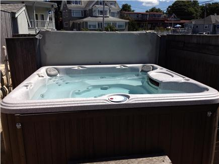 Bourne, Monument Beach Cape Cod vacation rental - Hot tub...