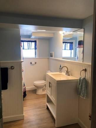 Bourne, Monument Beach Cape Cod vacation rental - One of two newly renovated 2020 bathrooms.
