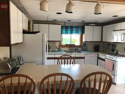 Bourne, Monument Beach Cape Cod vacation rental - Sunlit kitchen with newer appliances.