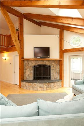 Brewster Cape Cod vacation rental - Great Room with fireplace