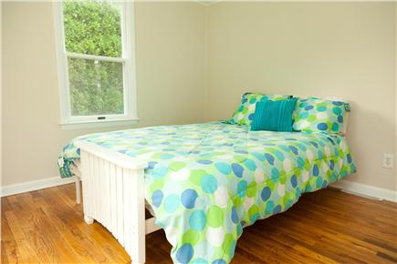 Brewster Cape Cod vacation rental - Downstairs BR with Queen bed and sliders out to deck