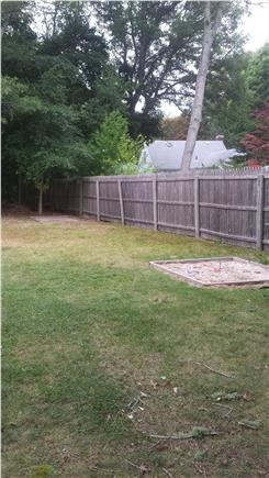 Falmouth, Teaticket Cape Cod vacation rental - Engage in a little horseplay playing horseshoes.