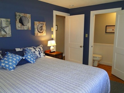 Falmouth, Teaticket Cape Cod vacation rental - Master bedroom with private half bath
