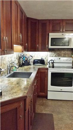 Falmouth, Teaticket Cape Cod vacation rental - Love lots of lighting in the kitchen?  You will love this!