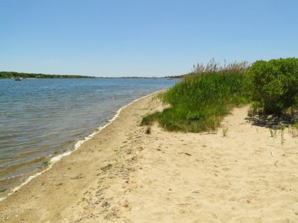 Falmouth, Teaticket Cape Cod vacation rental - Great Pond, 6 houses away, great to swim and kayak