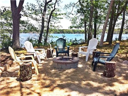 Falmouth Cape Cod vacation rental - Spin stories around the firepit at night while roasting smores