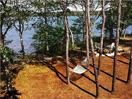 Falmouth Cape Cod vacation rental - Large private back yard offers easy access to our beach.