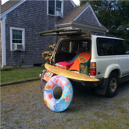 eastham Cape Cod vacation rental - All aboard...