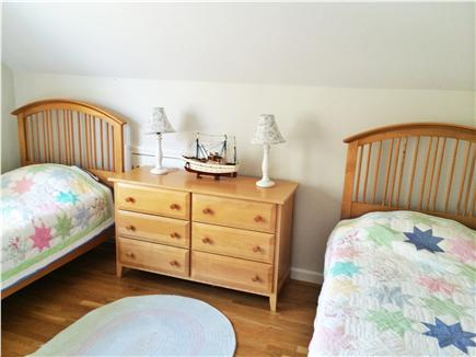 eastham Cape Cod vacation rental - Ship is in, twin bedroom for the crew.
