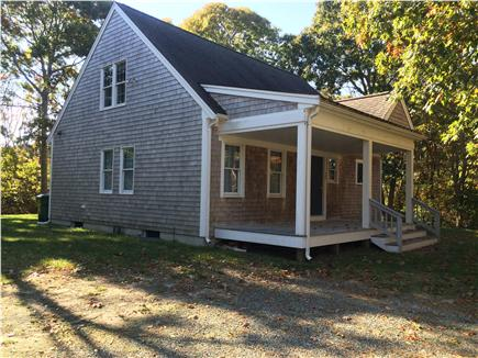 Eastham close to Campground Beach Cape Cod vacation rental - Morning coffee on the farmers porch
