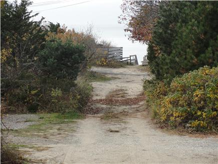 Eastham close to Campground Beach Cape Cod vacation rental - Path to the water.