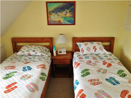 Centerville Cape Cod vacation rental - Bedroom with two twin beds
