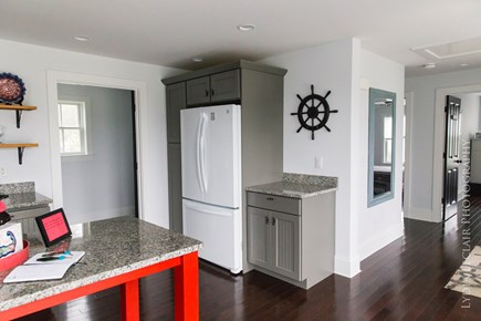 Dennis Cape Cod vacation rental - Top Unit Kitchen, Pantry area and back bedrooms