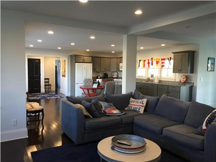 Dennis Cape Cod vacation rental - Bottom unit: Kitchen, Living and Dining area