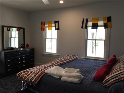 Dennis Cape Cod vacation rental - Bottom Unit Master King Bedroom with attached bathroom