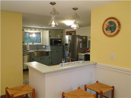 Harwich Port Cape Cod vacation rental - Renovated kitchen w/ new stainless steel appliances