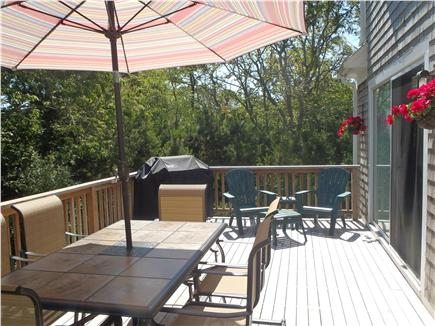 Chatham Cape Cod vacation rental - Cook on the new gas grill and enjoy outdoor eating.