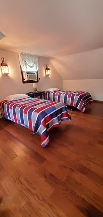 Chatham Cape Cod vacation rental - Bedroom 3 has 2 twin beds that can be converted to a king.