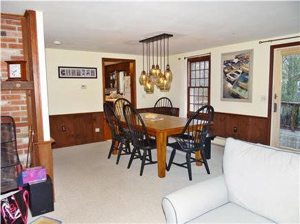 Chatham Cape Cod vacation rental - The open living and eating areas are perfect for a crowd.