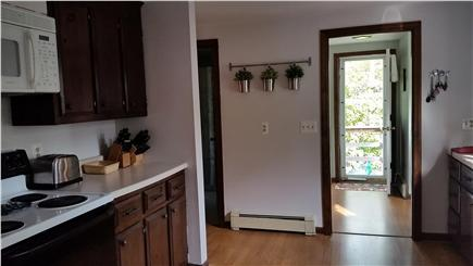 Chatham Cape Cod vacation rental - The freshly painted kitchen houses many amenities.