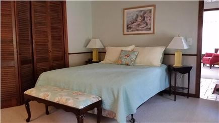 Chatham Cape Cod vacation rental - The master bedroom is centrally located and has a queen bed.