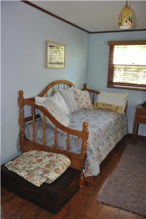 Orleans Cape Cod vacation rental - Shabby chic inspired bedroom with trundel beds.