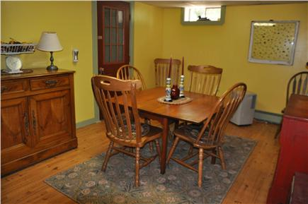 Orleans Cape Cod vacation rental - First floor living room with beautiful antique furniture.
