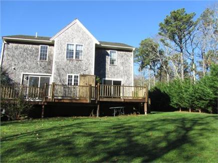 East Harwich Cape Cod vacation rental - Back yard and deck