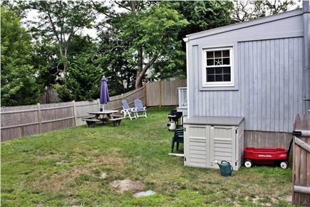Dennisport Cape Cod vacation rental - Backyard
