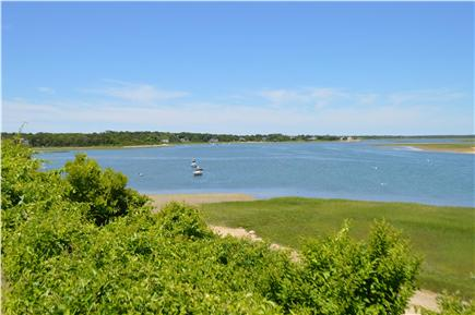 East Orleans Cape Cod vacation rental - View to left from private yard just steps from your porch