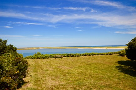 East Orleans Cape Cod vacation rental - Panoramic View from Back yard