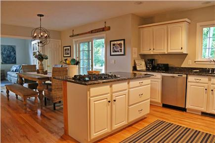 N. Falmouth Old Silver Beach Cape Cod vacation rental - Eat in kitchen