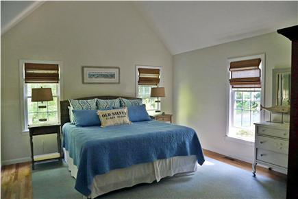 N. Falmouth Old Silver Beach Cape Cod vacation rental - 1st Floor Master Bedroom Suite with Master Bath