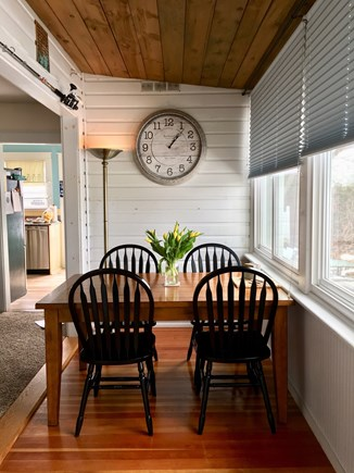 Onset MA vacation rental - Waterview dining area.