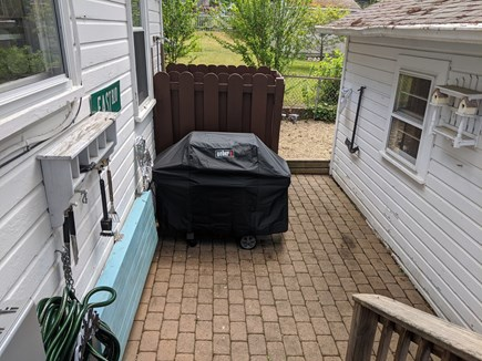 Onset MA vacation rental - New Weber grill & outside shower