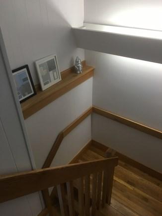 Wellfleet Cape Cod vacation rental - Hallway to lower level